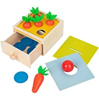koolsoo Montessori Toy Wooden Block Set Pull Carrot Ability Ball Matching Box Preschool Wooden Toys, Montessori Toys…
