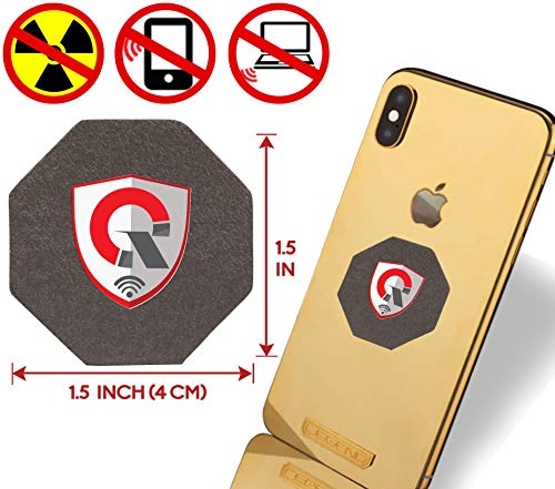 - Best EMF Protection CELL PHONE : Radiation Protection Tesla Technology EMF Shield WiFi, Laptop-All Devices| Negative Ion Generator| Global AWARDS Anti Radiation Shield, EMF Blocker Neutralizer 1.5INCH