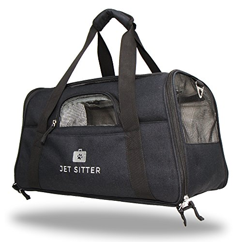 Jet Sitter Super Fly Airline Approved Pet Carrier Bag – TSA Airplane Travel Carriers Cat Dog Small Dogs Crate