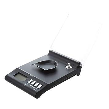 SODIAL(R) Balanza Bascula Digital Peso 30g¡Á0.001g LCD Retroiluminada De Precision: Amazon.es: Hogar