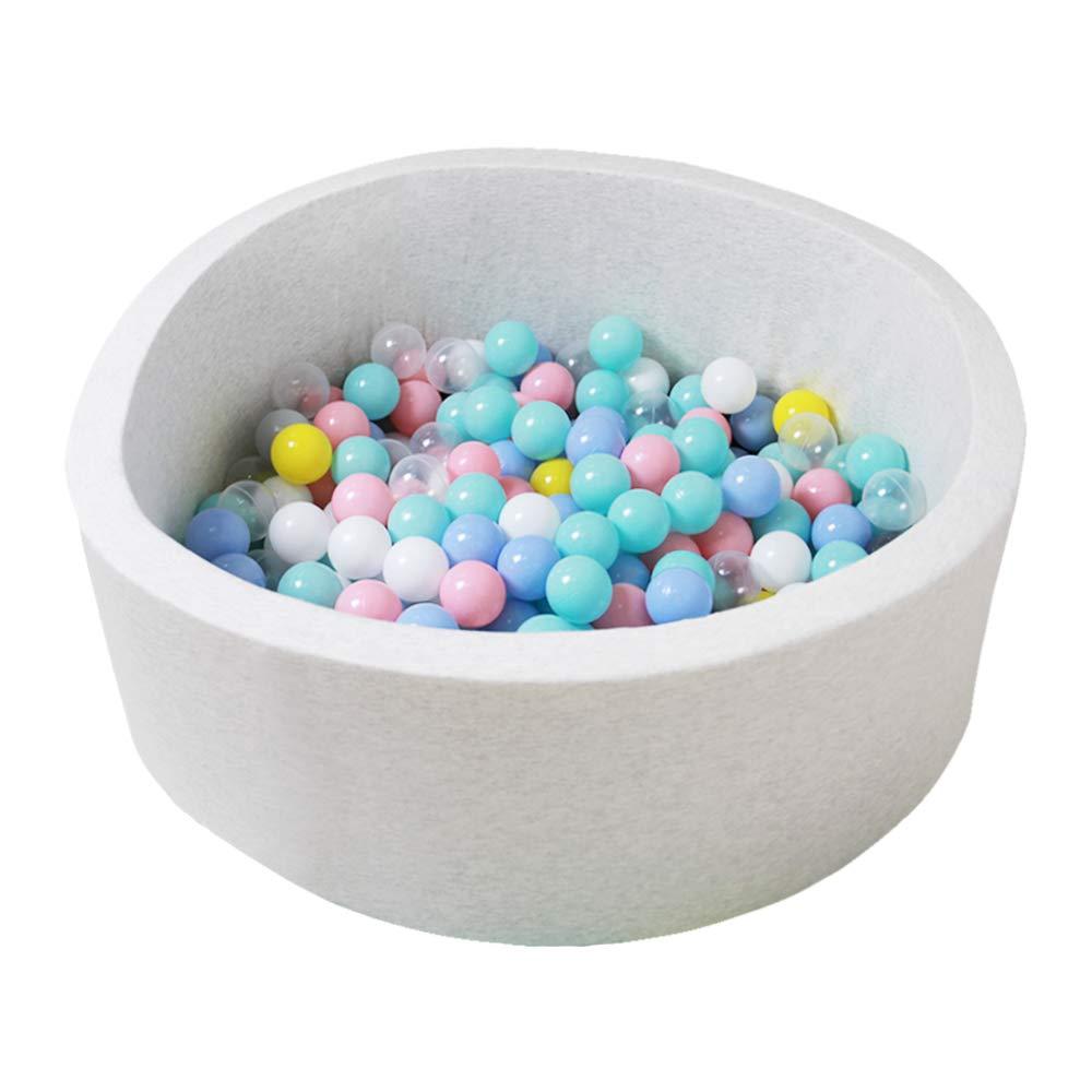 Premium Handmade Kiddie Balls Pool Off White Wonder Space Deluxe Kids Round Ball Pit Ideal Gift Play Toy for Children Toddler Infant Boys /& Girls Soft Indoor Outdoor Nursery Baby Playpen