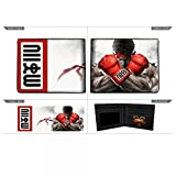 Official Bioworld Street Fighter Faux Leather Bifold Wallet- 3''x4'' Folded- Ryu