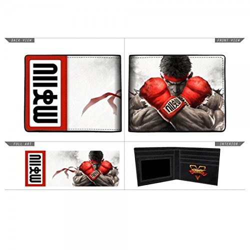 official-bioworld-street-fighter-faux-leather-bifold-wallet-3x4-folded-ryu