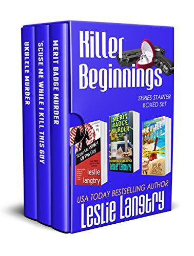 Killer Beginnings: Series Starter Boxed Set by [Langtry, Leslie]