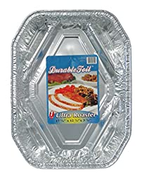 Durable Foil Ultra Aluminum Roasting Pan, 18-1/2\