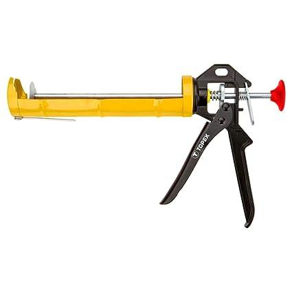 Topex 21B336 - Pistola para tubos de silicona (aluminio)  Amazon.es ... 5a3fc6db3def
