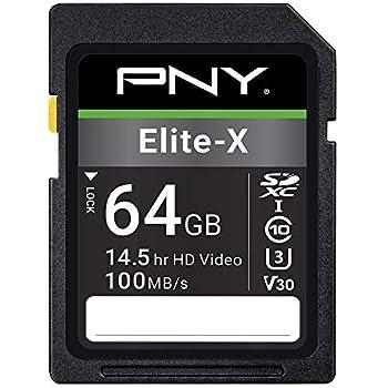 Amazon.com: PNY Elite Performance 64GB Flash Memory High ...