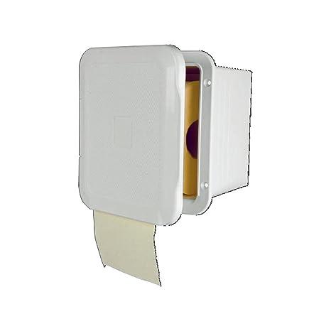 Amazon.com: NuovaRade Nuova Rade, Flush-Mount Toilet Paper Holder ...