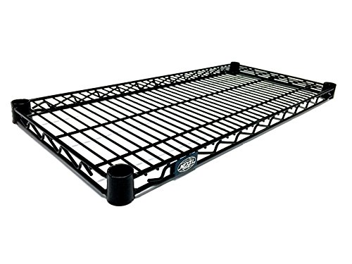 "Review Nexel  Wire Shelf, Black Epoxy Finish, 18""W x 72""L By Nexel by Nexel"