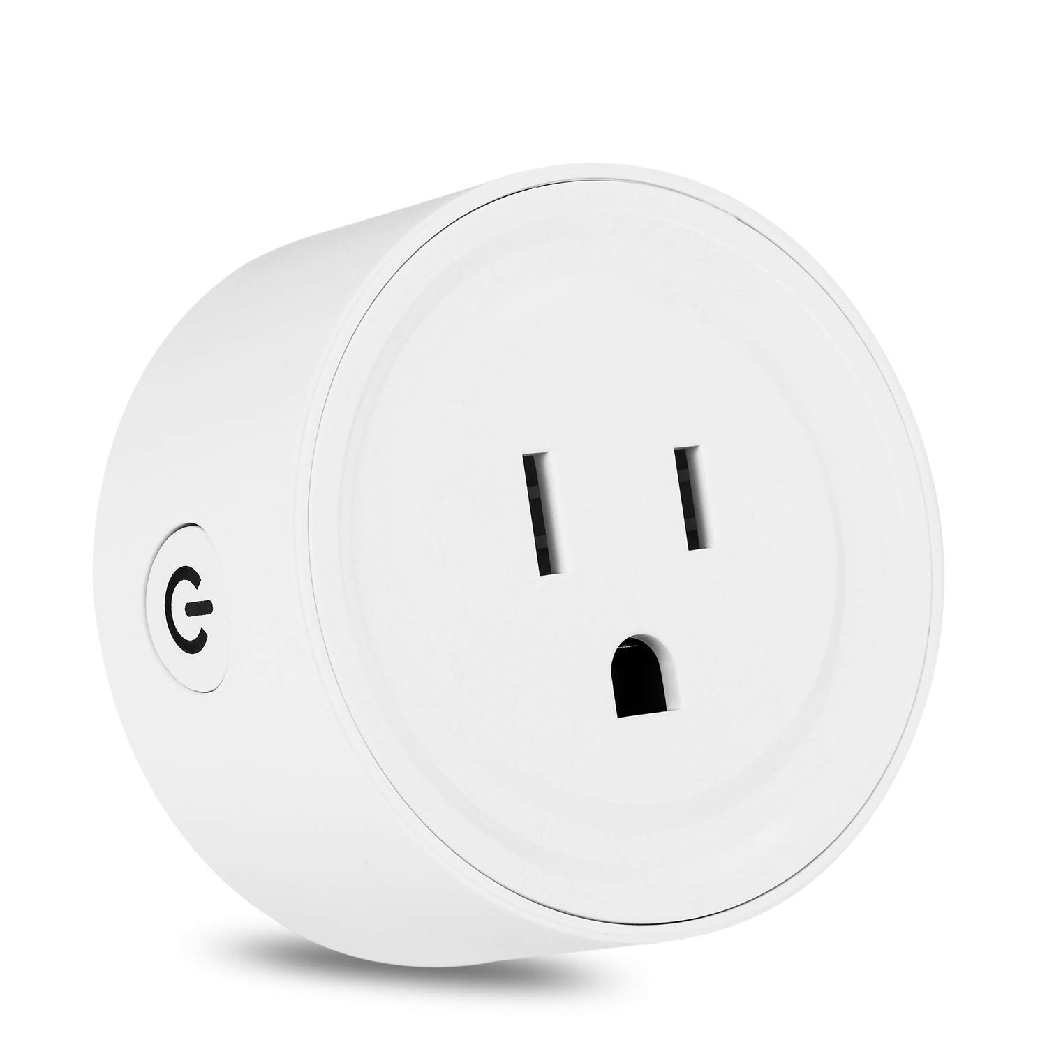 Wifi Smart Plug Mini Socket Outlet Power Switch Works With Amazon Alex Google Home Remote Control By App No Hub Required Time Fuction
