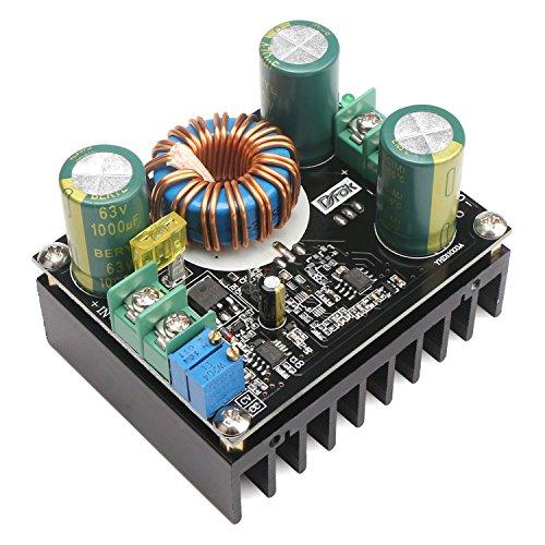 (Boost Voltage Converter, DROK 600W 12A Dc Boost Voltage Converter 12~60V To 12~80V StepUp Power Supply Transformer Module Regulator Controller Constant Volt/Amp Car)