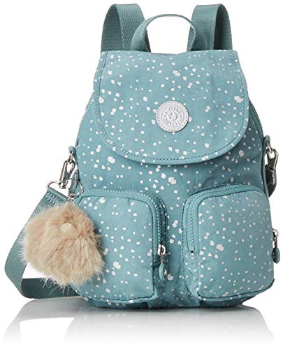 Kipling Women's Firefly Up Backpack Blue (Silver Sky)