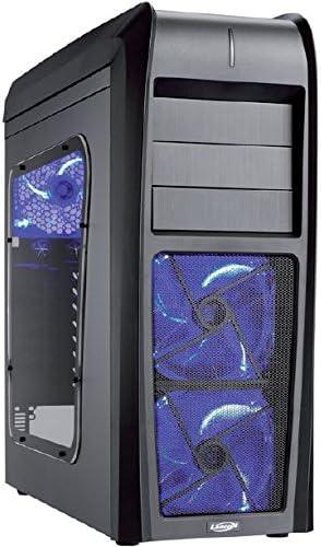 Lancool K63 - Caja para torre de ordenador (mini ITX, 3x 5,25 ...