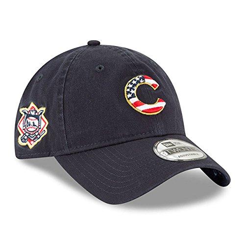 Chicago Cubs New Era 4th of July 9TWENTY Navy