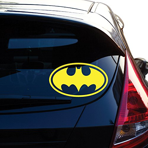 Yoonek Graphics Batman Decal Sticker for Car Window, Laptop, Motorcycle, Walls, Mirror and More. # 452 (8