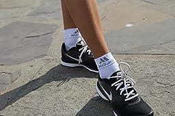 Mojo Compression Plantar Fasciitis Foot Sleeves XFirm Graduated Support-Medium, Beige