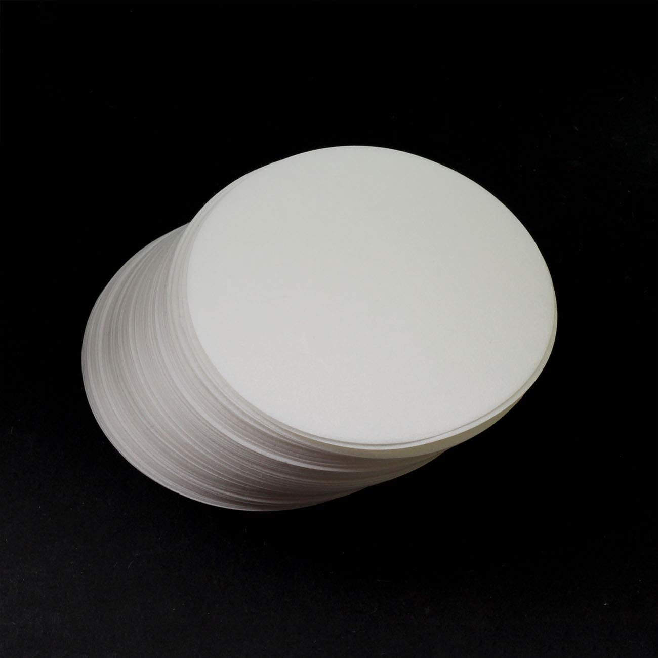 PZRT 1-Pack 9cm Qualitative Filter Paper Fast Speed Round Laboratory Filter Paper Chemical Analysis Industrial Oil Testing Funnel Filter Paper