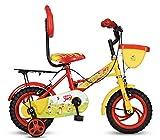 Hero Joy Steel Single Speed Bike, Kids 12T (Red/Yellow)