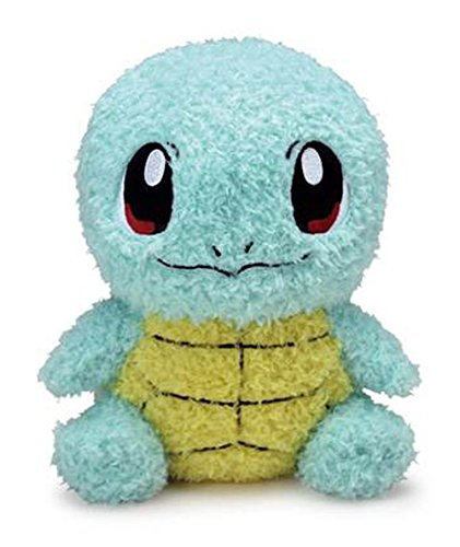 Sekiguchi Pokemon MokoMoko Squirtle Fluffy Stuffed Plush, 7