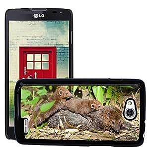 GoGoMobile Slim Protector Hard Shell Cover Case // M00118389 Weasel Family Animals Wildlife Wild // LG Optimus L90 D415