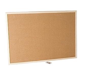 Pizarra Memo Corcho 40x26cm: Amazon.es: Oficina y papelería