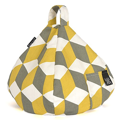 iBeani Bean Cushion iPad Bag Yellow amp; Angle Any Hare on Surface Stand Cube for Holder Any Devices Tablet All FIIxYqr