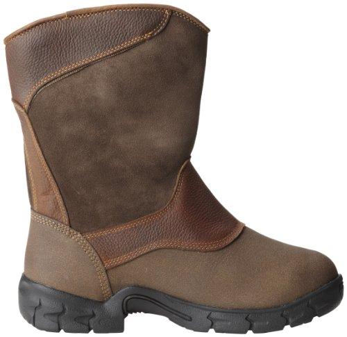 Timberland Pro Menns Excave Møtte Wellington Arbeid Boot Brown Ramlet