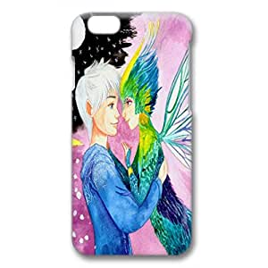 iPhone 6 Plus Case,Fashion Durable 3D design for iPhone 6 Plus(5.5 inch),PC material Phone Cover,Designed Specially Pattern with Jack Frost and Toothiana,Rise of the Guardians