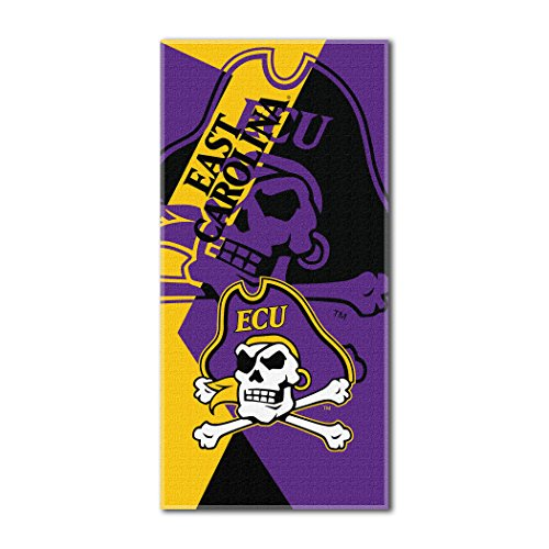 The Northwest Company Officially Licensed NCAA East Carolina Pirates Puzzle Beach Towel, 34