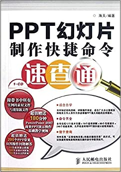 Book PPT slides produced shortcut Command Quick pass - with 1CD(Chinese Edition)