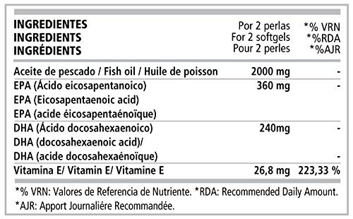 Omega 3 + Vitamin E 100 Perlas: Amazon.es: Salud y cuidado ...