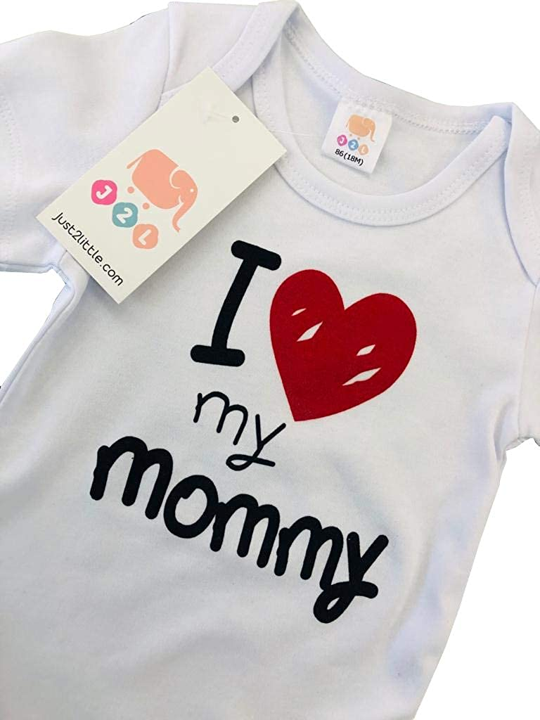 J2L Body para beb/é I Love My Mommy de algod/ón 100 24 Meses 3
