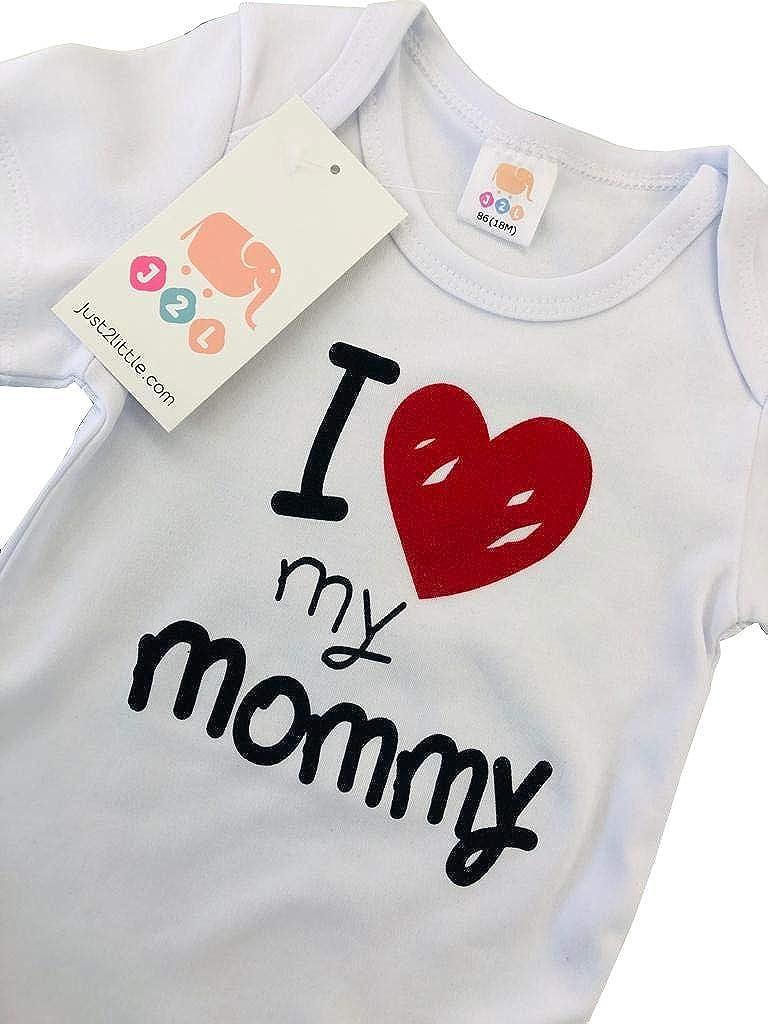 3 24 Meses J2L Body para beb/é I Love My Mommy de algod/ón 100