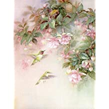 Lena Liu - Hummingbirds with Fuchsia