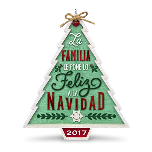Hallmark Keepsake 2017 Nuestra Familia...Nuestra Navidad Dated Christmas Ornament