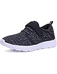 Kids Lightweight Breathable Sneakers Easy Walk Casual Sport Shoes for Boys Girls