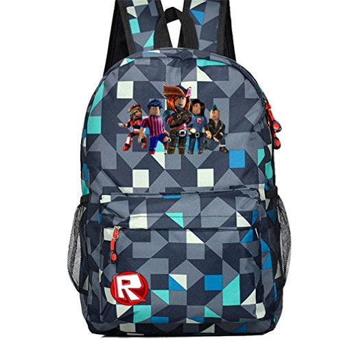 SP Kids Schoolbag Backpack with Roblox Students Bookbag Handbags Travelbag (RB-111) by SP