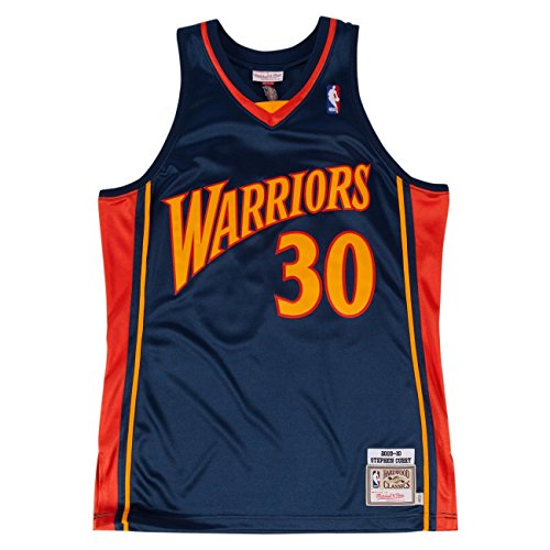 Jersey Authentic (Mitchell & Ness Stephen Curry 2009-10 Authentic Jersey Golden State Warriors (40 (M)))