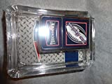 New England Patriots Oil Lighter and Ashtray Gift Set