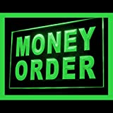 Money Order Shop Domestic Pre-specified Sales Lure Postal LED Light Sign 190101 Color Green