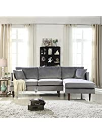Image Result For Dhp Emily Sectional Futon Sofa With Convertible Chaise