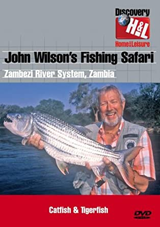 John Wilson's Fishing Safari - Vol  2 [DVD]: Amazon co uk