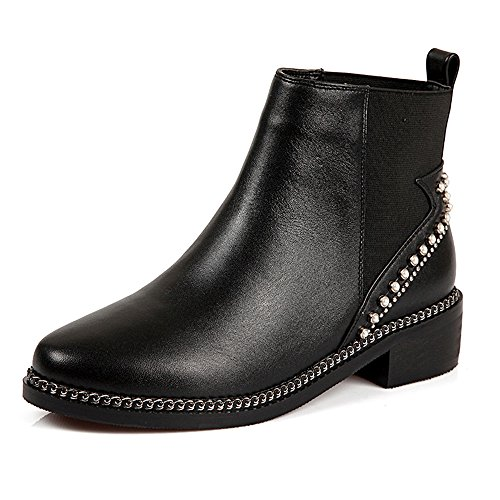 negro mujer Nine SevenAnkle Botas boots aw1qqIxY