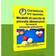 Carambola tre sponde - Modelli di cerchi di piccole dimensioni: Dai tornei di campionato professionale (Italian Edition)