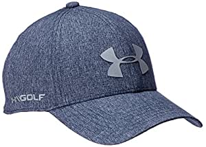 Under Armour Men's Driver 2.0 Golf Cap, Academy (408)/Steel, One Size