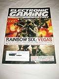 Electronic Gaming Monthly #202 Apr. 2006 Rainbow Six Vegas Virtua Fighter 5