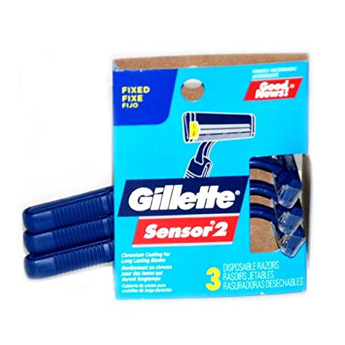 Gillette Good News Razors 3pk, Case of 12