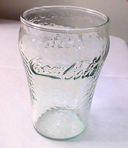 (Coca Cola Green Pebble Pattern 6 Oz. Juice Glasses - Set of 4)