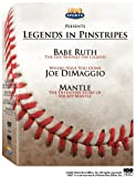 Legends in Pinstripes (Babe Ruth The Life Behind the Legend / Where Have You Gone Joe DiMaggio / The Definitive Story of Mickey Mantle)