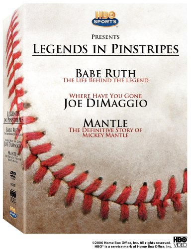 Legends Pinstripes Behind DiMaggio Definitive product image